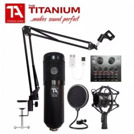 TITANIUM AUDIO BM800 V8 WITH BT COMPLETE SET