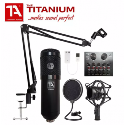 TITANIUM AUDIO BM800 V8 WITH BT COMPLETE SET