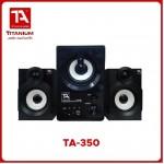 TITANIUM AUDIO TA-350 2.1 MULTIMEDIA SPEAKER SYSTEM