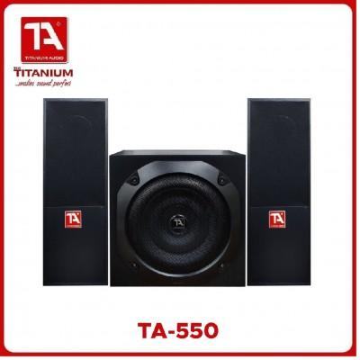 TITANIUM AUDIO TA-550 MULTIMEDIA SPEAKER