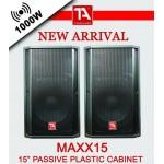 TITANIUM AUDIO MAXX-15 (PAIR)