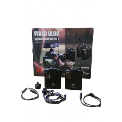 TITANIUM AUDIO UHF WIRELESS MIC SYSTEM FOR VLOGGER