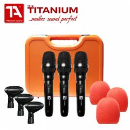 TITANIUM AUDIO Perfect Voice Microphone Pack ( 3pcs ) - TA1800s