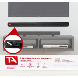 TITANIUM AUDIO TASB90 SOUND BAR
