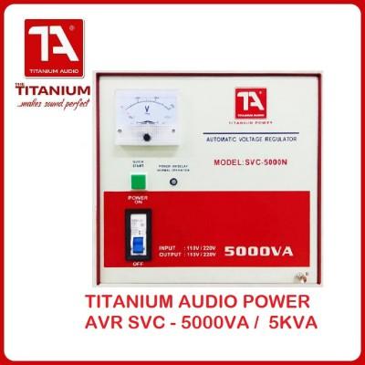 TITANIUM POWER SVC-5000N AVR 5KVA