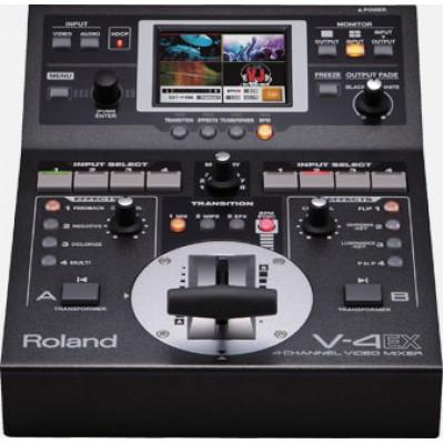 ROLAND V-4EX FOUR CHANNEL VIDEO MIXER