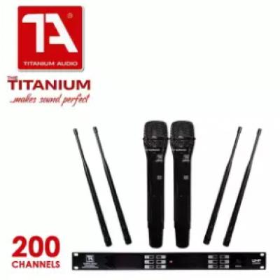 TITANIUM TA-200PRO 200CH WIRELESS MIC