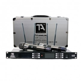 Titanium Audio TA200 Pro Genius Dual Wireless Microphone