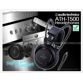 AUDIO TECHNICA ATH T500 HEADPHONE