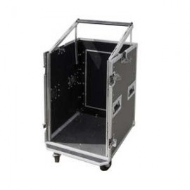 FLIGHT CASE 10U + MIXER